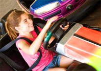 Enjoy the Traffic Slam Bumper Cars at Adventure City Niagara Falls