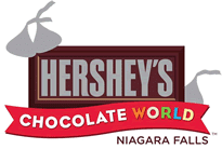 Hershey Chocolate World Niagara Falls logo