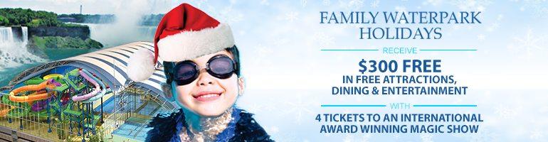 Holiday Magic At Fallsview Indoor Waterpark