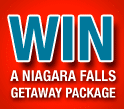 Win a Niagara Falls Getaway Package