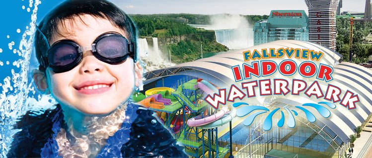Fallsview Indoor Waterpark Family Getaway Package