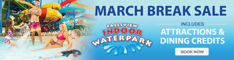 March Break At Fallsview Indoor Waterpark