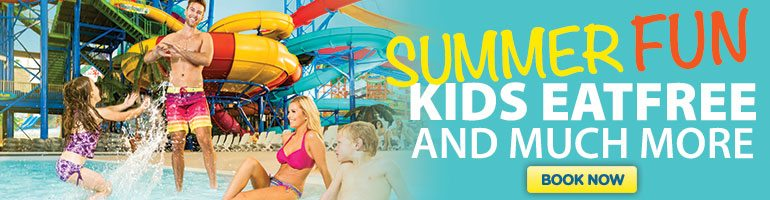 Summer Fun At Fallsview Indoor Waterpark