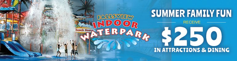 Summer Waterpark Packages - $250 Freen In Attractions And Dining