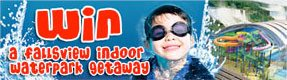 Win a Fallsview Indoor Waterpark Getaway
