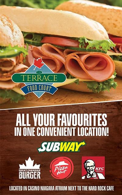 Terrace Food Court