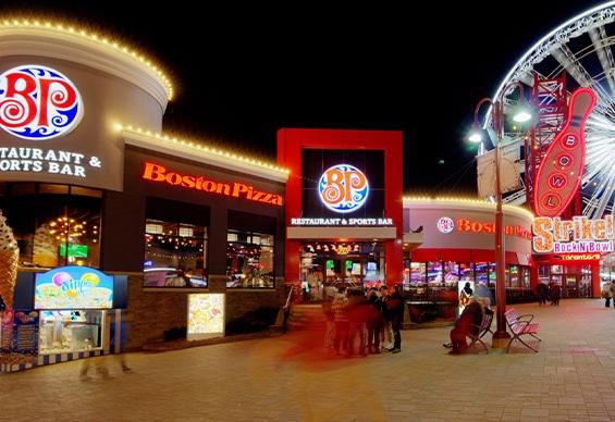 Boston Pizza Clifton Hill, Ontario
