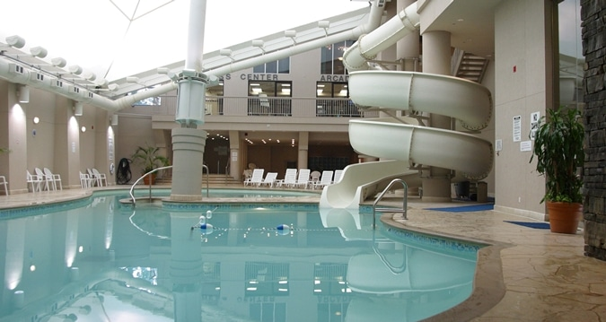 Adventure Pool At Hilton Niagara Falls Fallsview Hotel