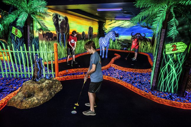 Safari Mini Putt at Adventure City