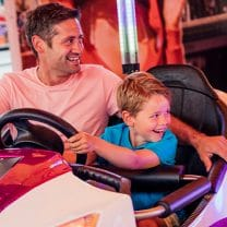 Bumper Cars at Adventure City