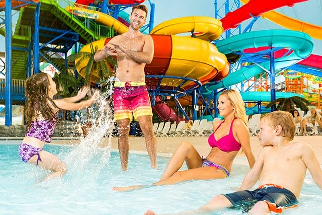 Enjoy a day of water fun at Fallsview Indoor Waterpark