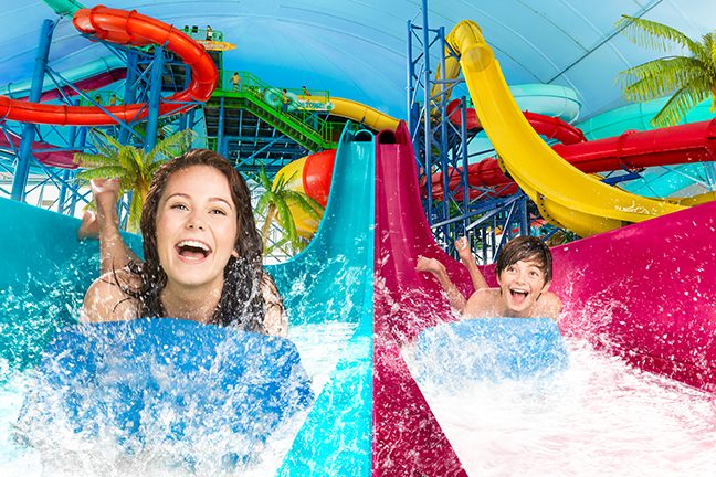 Splash the day away at Fallsview Indoor Waterpark
