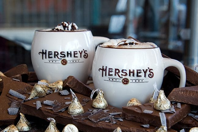 Warm Up With A Hot Cocoa Made From Real Hershey's Chocolate