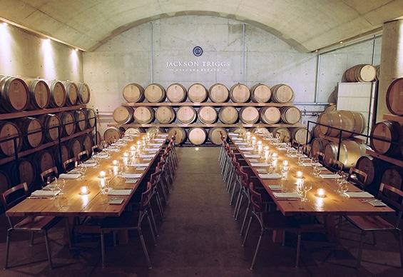 Niagara Falls Wineries - Jackson Triggs Cellar