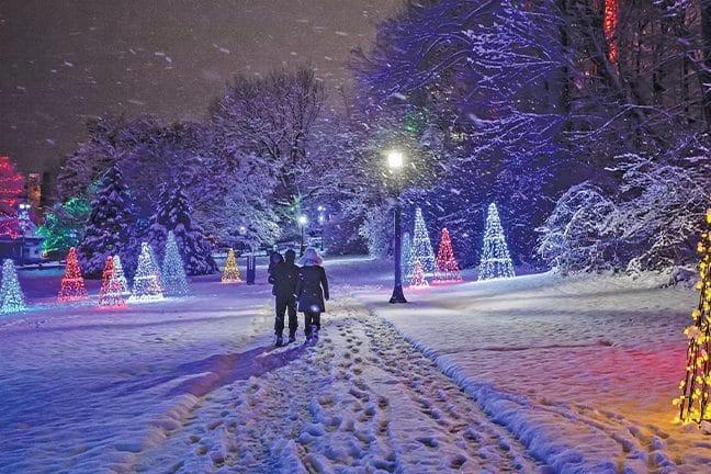 Touring Winter Festival of Lights