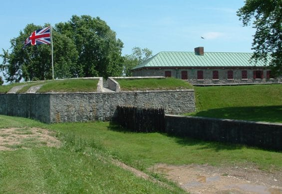 Old Fort Erie in Niagara-on-the-Lake