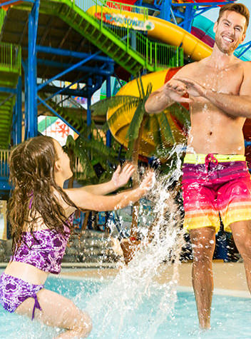A Splashing Good Time with this Niagara Falls Hotel Waterpark Getaway
