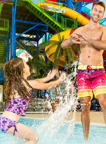 A Splashing Good Time with this Niagara Falls Hotel Waterpark Getaway