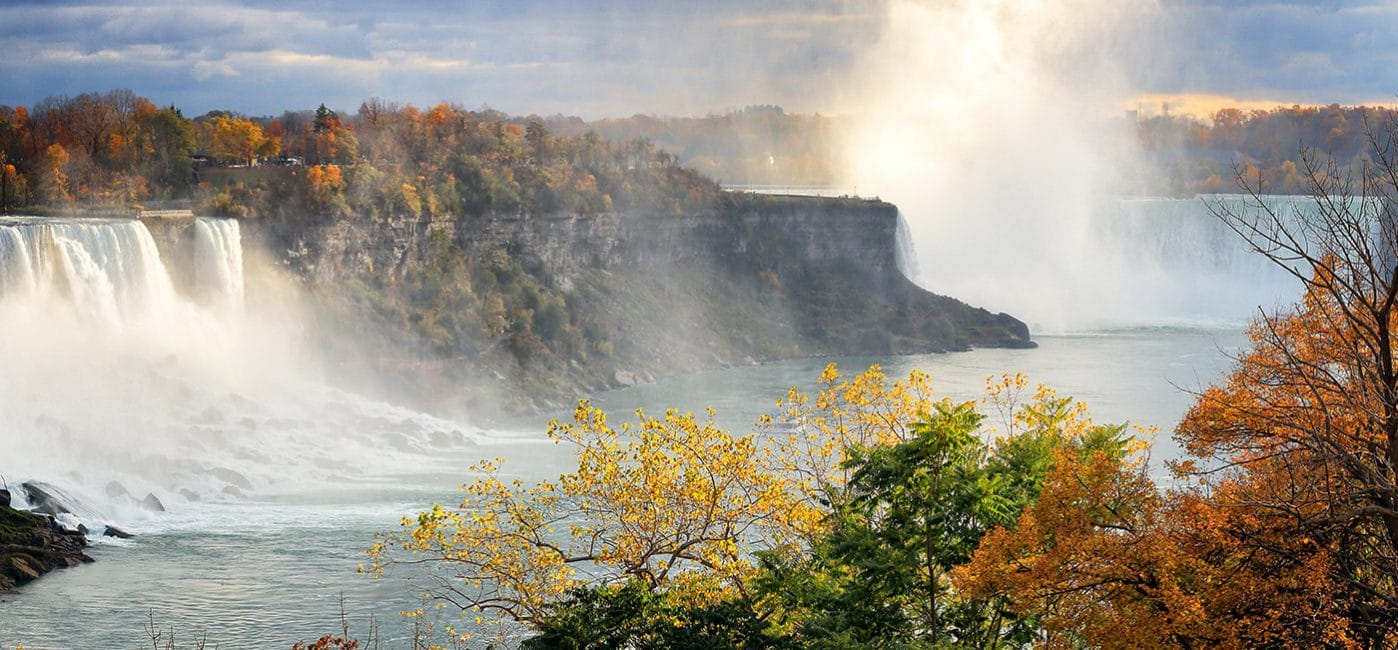Niagara Falls Fall Colours