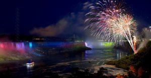 Niagara Falls Summer Fireworks Schedule