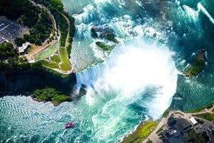 Niagara Falls Aerial Shot