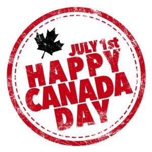 July 1st - Happy Canada Day