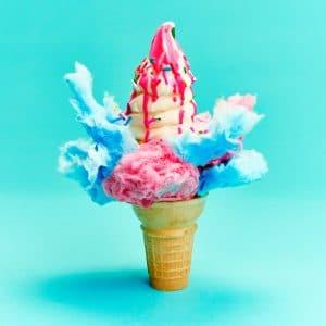 Sweet Jesus ice cream cone