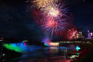 Niagara Falls 2018-2019 Winter Fireworks