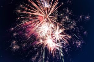 Niagara Falls New Year's Eve fireworks