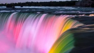 Colourful Falls