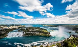 Niagara Falls from Skylon Tower