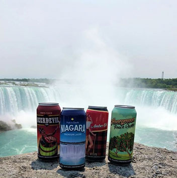 Signature Craft Beers at Niagara Brewing Company