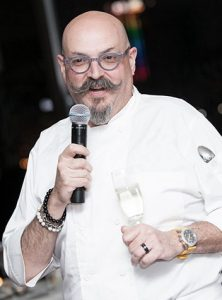 Celebrated Chef Massimo Capra at a Niagara Culinary Event