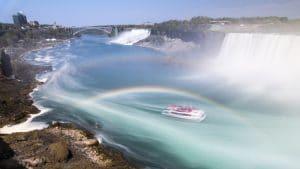 Hornblower Niagara Cruises with Double Rainbow