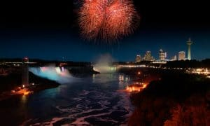 Niagara Falls Summer Fireworks