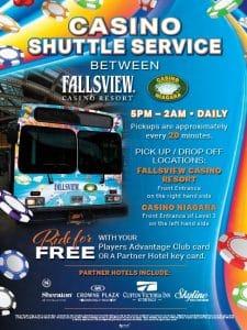 Free Casino Shuttle