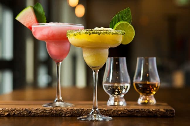 Niagara Distillery signature frozen cocktails and flights