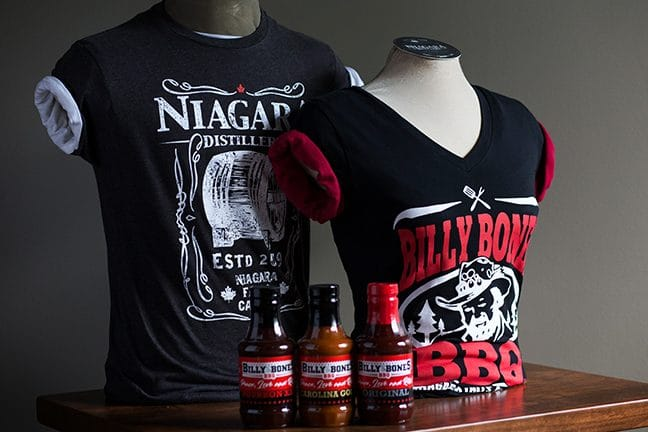 Billy Bones BBQ sauce and merchandise available