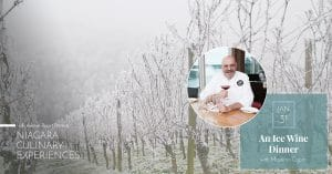 An Icewine Dinner with Chef Massimo Capra