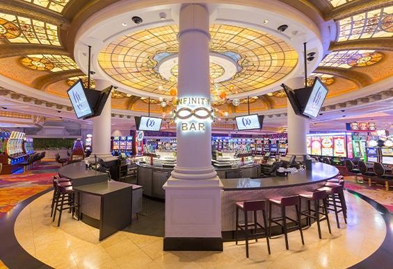 360 degree bar in Fallsview Casino Resort