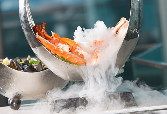 Customise your own Seafood Tower at 21 Club