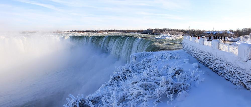 Niagara Falls is stunning in the Winter