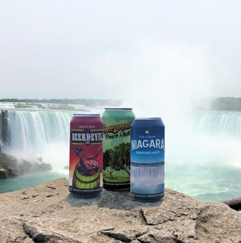 Niagara Brewing Company canned beers