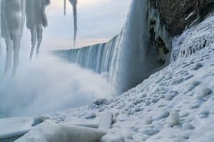 The Falls in Winter