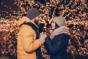 Winter Engagement Couple
