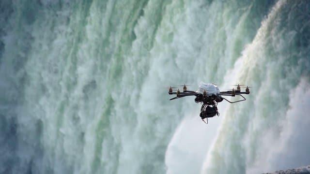 Drone Photography of Niagara Falls