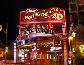 Ripley's 4D Moving Theatre Clifton Hill