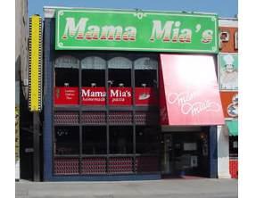 Mama Mia's Victoria Avenue
