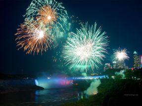 Fireworks Niagara Falls